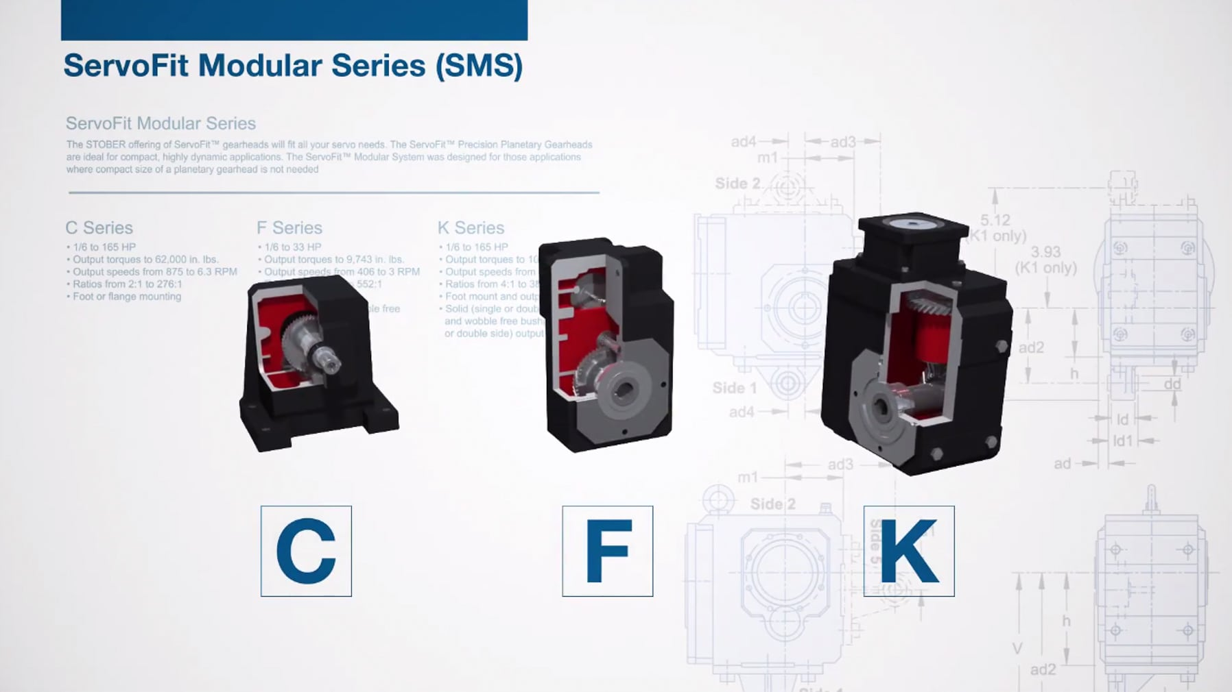 3D animation for gearbox manufacturer